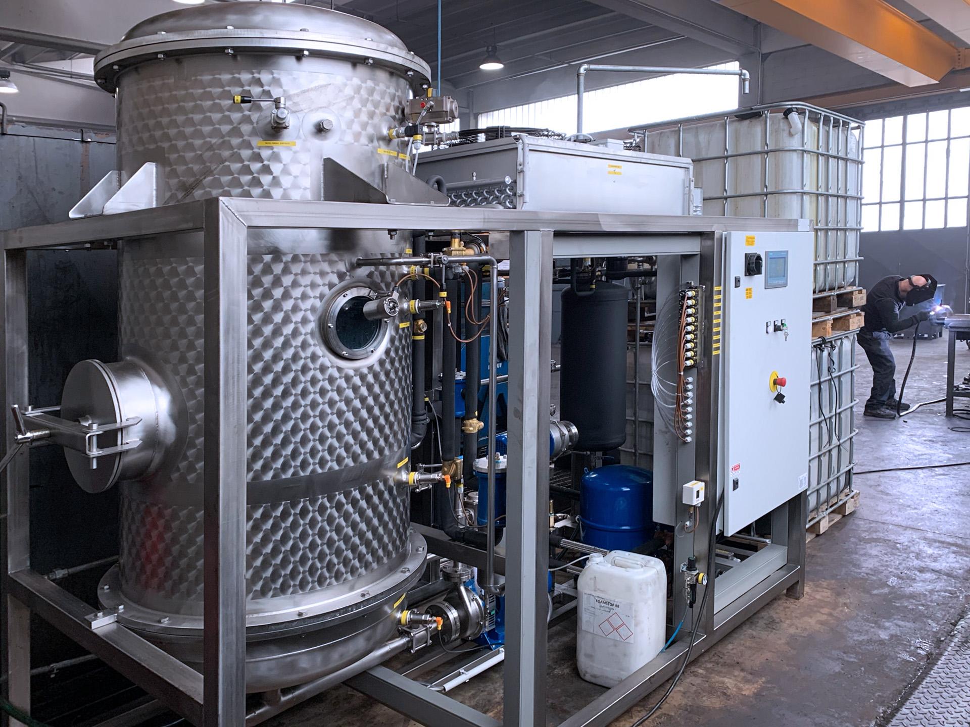 Evaporatore 2000 litri giorno